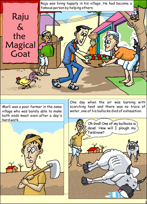 raju and the magical goat